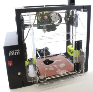 View of the printer enclosure from Front Left side